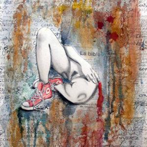 Peinture érotique par l'artiste Gier